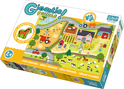 TR Giga Puzzle Jättipalapeli Maaseutu