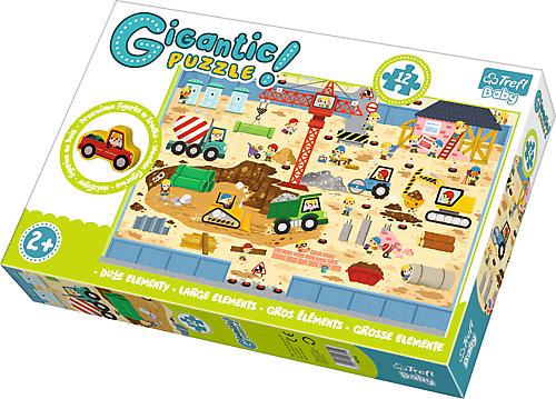 TR Giga Puzzle Jättipalapeli Rakennusmaa
