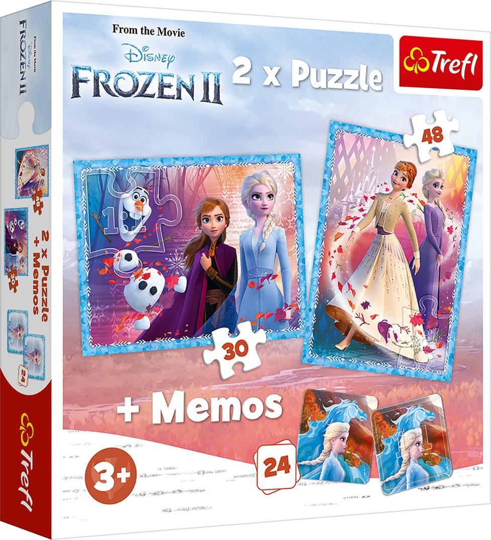 TREFL Palapelisetti Frozen 2, 30 + 48 + M24