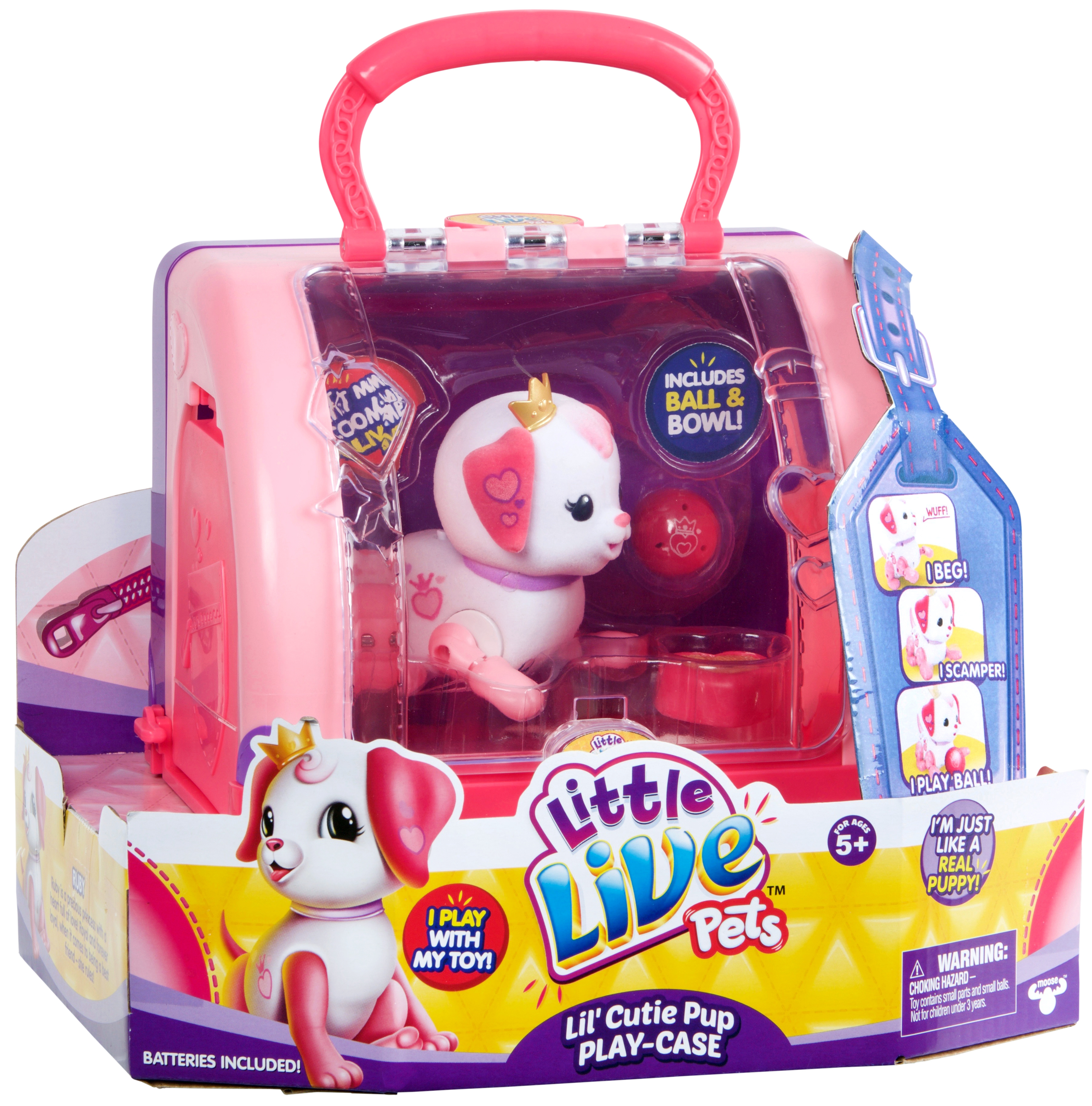 LITTLE LIVE PETS SMALL PUPPY PLAYSET