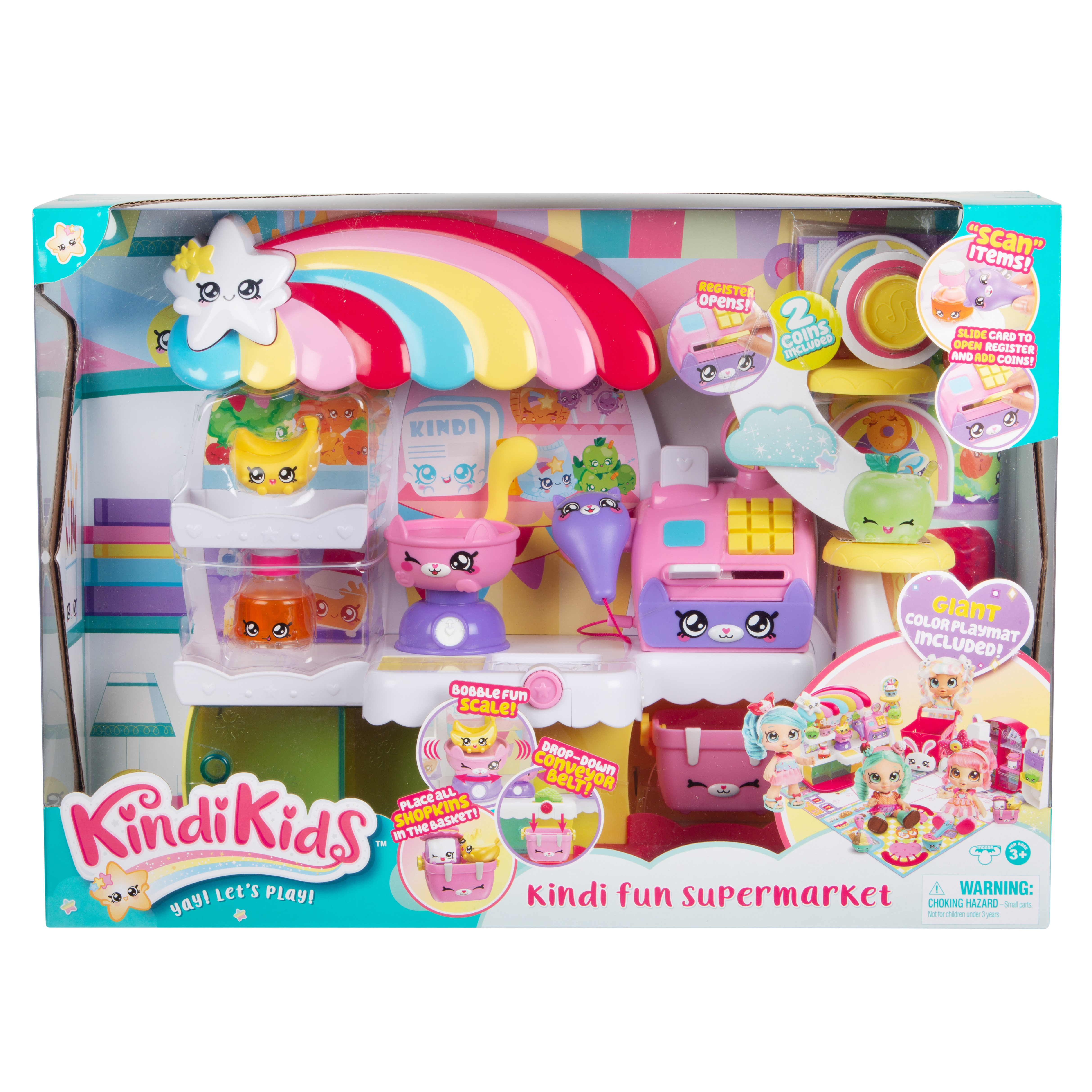 MOOSE KINDI KIDS Supermarketin leikkisetti