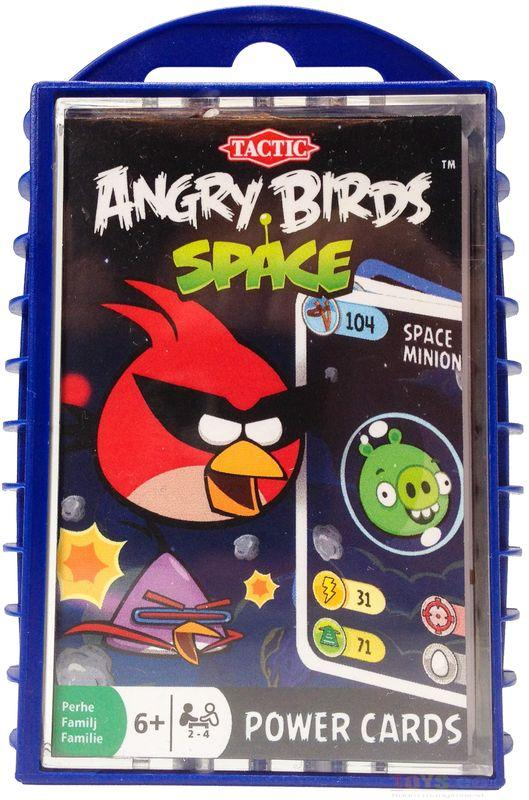 ANGRY BIRDS POWER CARDS SPACE