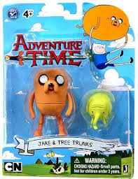 "JAZWARES ADVENTURE TIME FIGURES 3"" ASST"