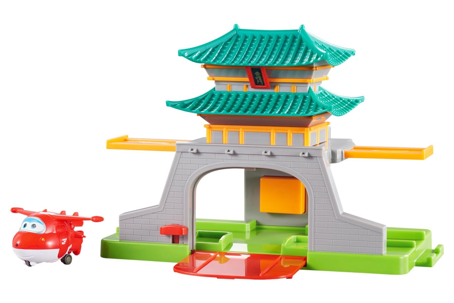 ALPHA SUPER WINGS Seoul mängukomplekt