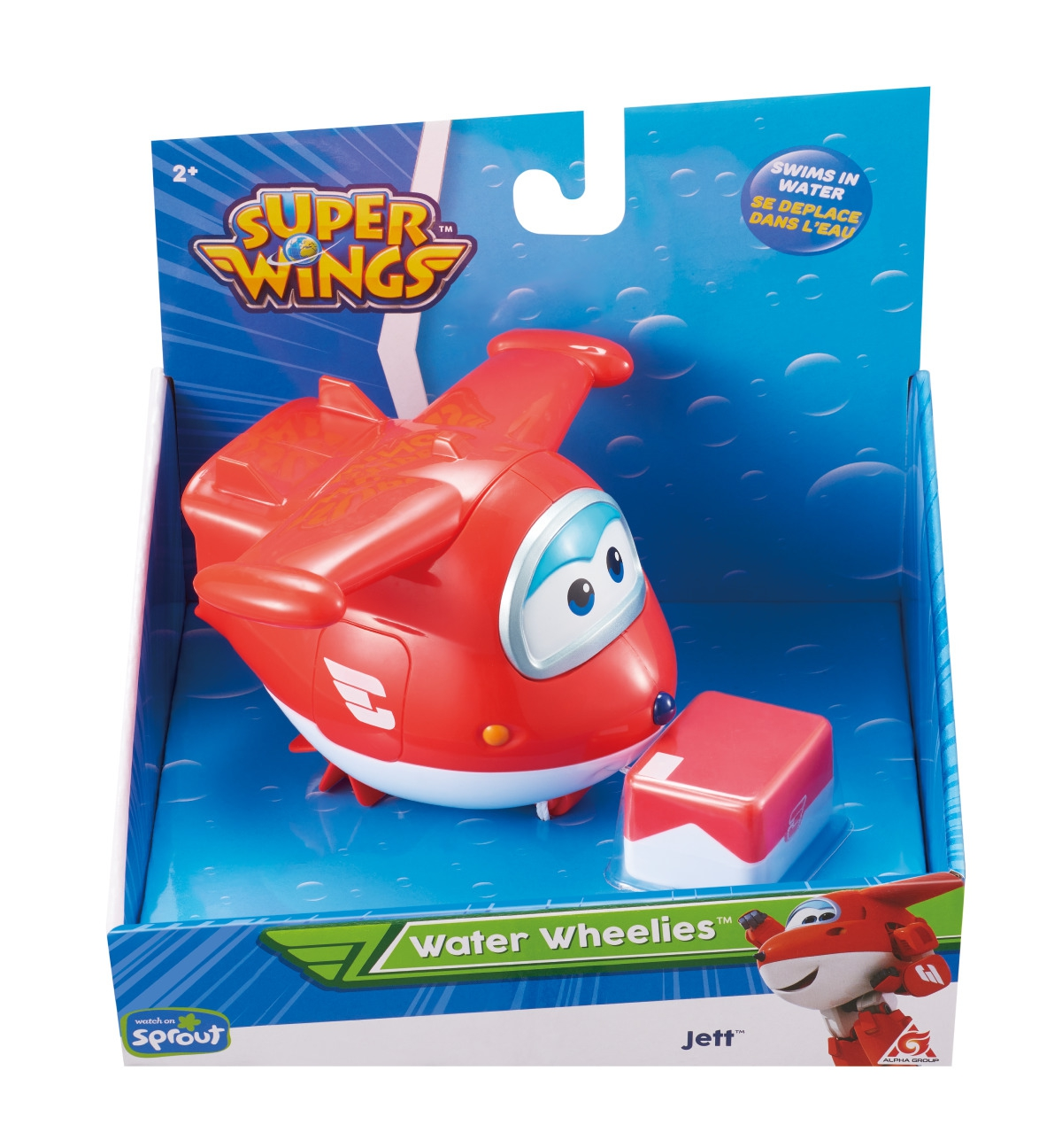 ALPHA SUPER WINGS Vesilentokone Jett