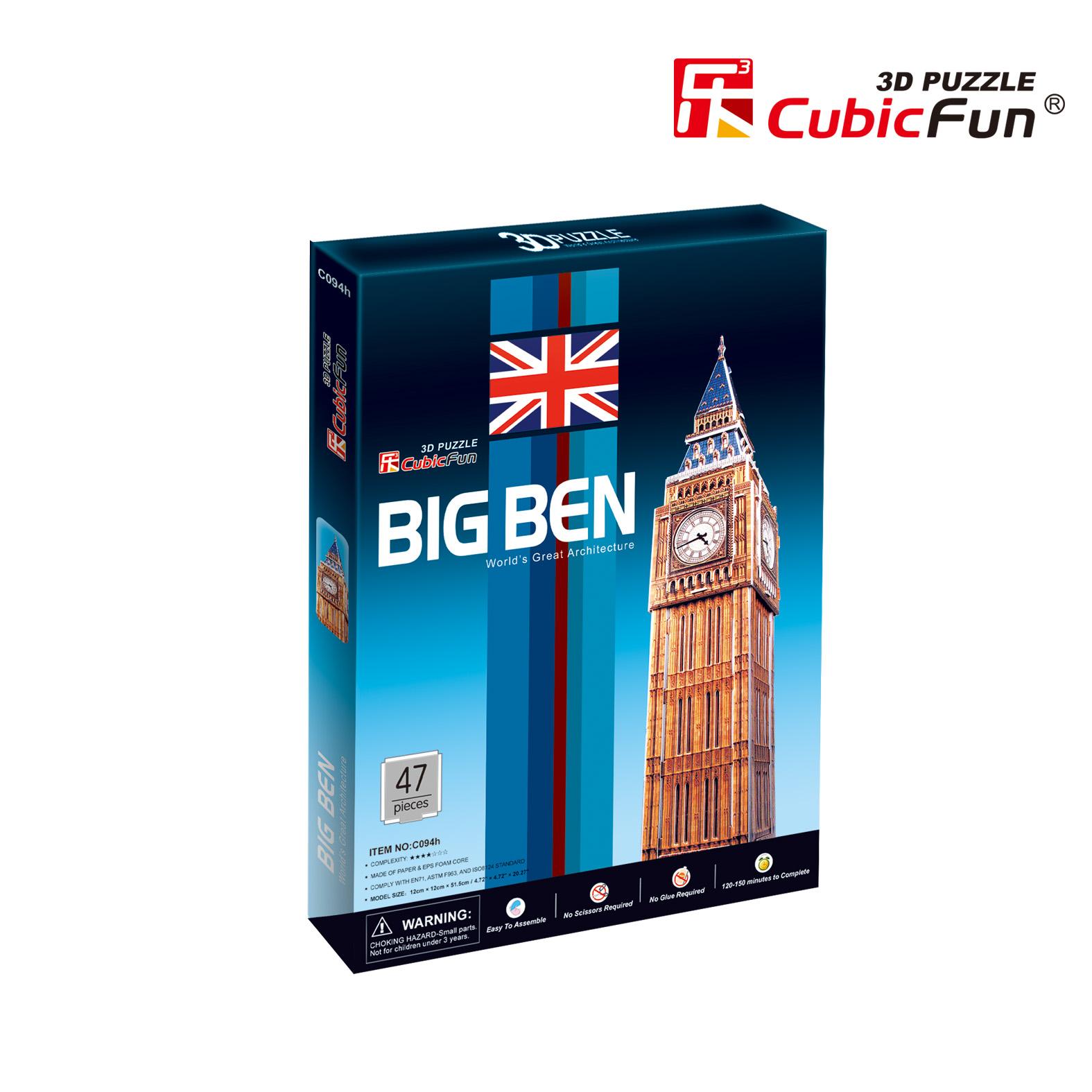 CubicFun 3D puzle Big Ben