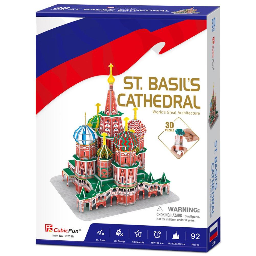 CUBIC FUN 3D Palapeli Pyhän Vasilin katedraali