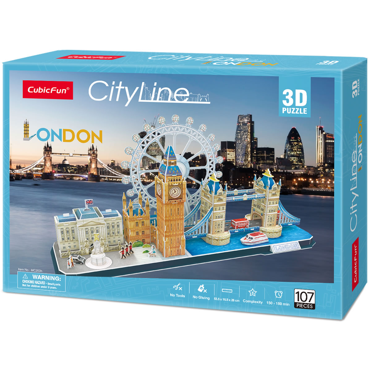 CubicFun 3D puzzle CITY LINE LONDON
