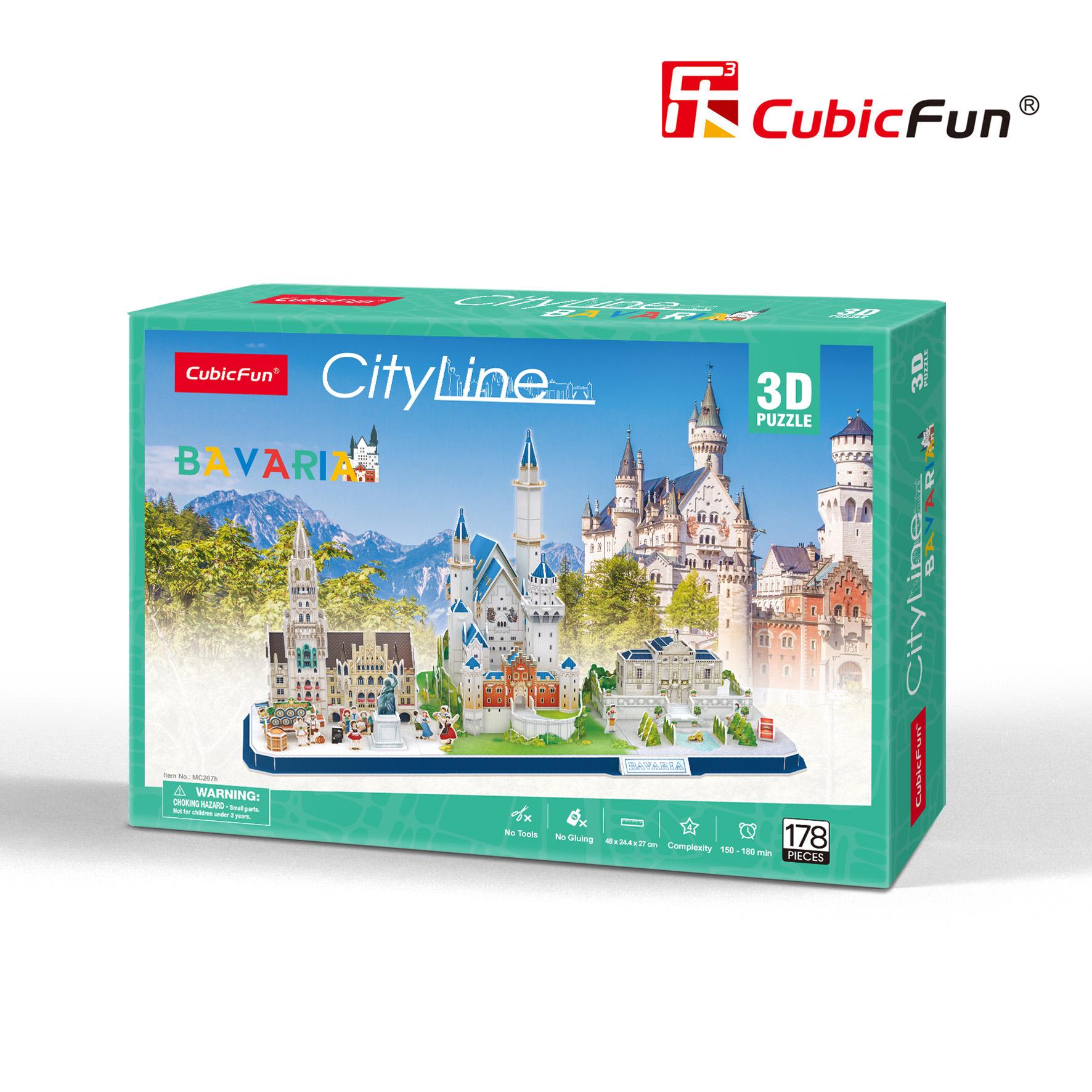 CubicFun 3D palapeli Baijeri