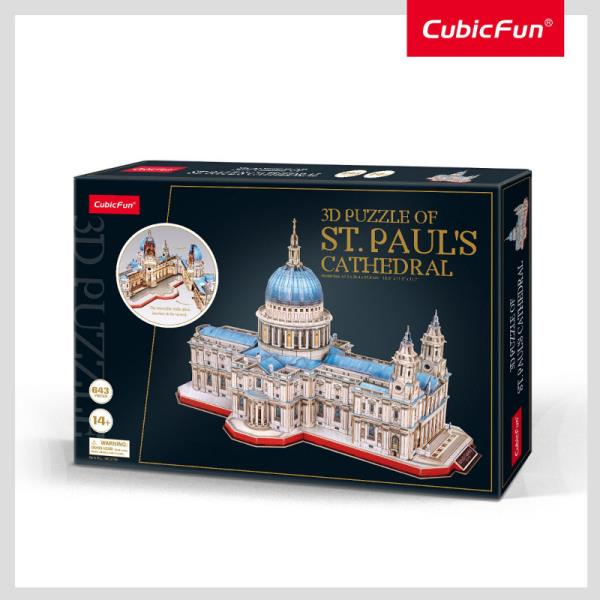 CUBIC FUN Püha Pauli katedraal
