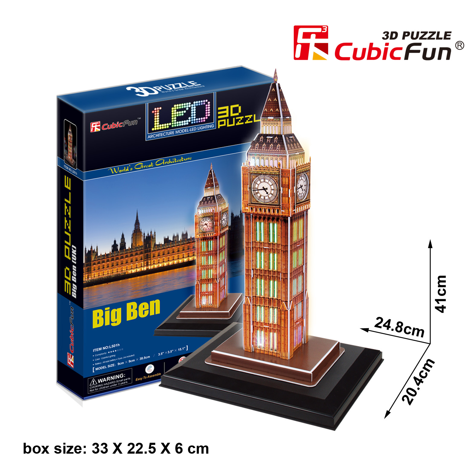 CUBICFUN Big Ben