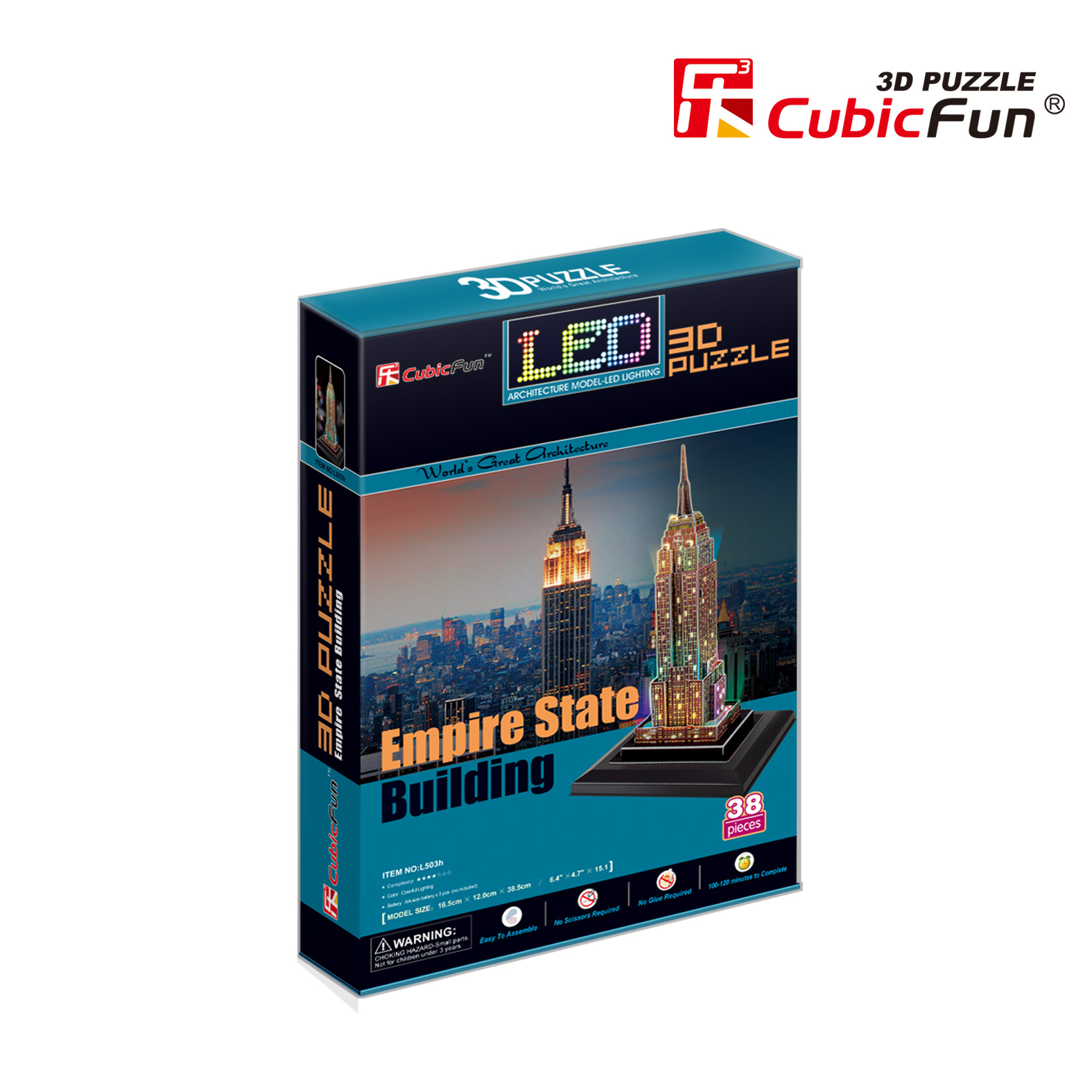 CUBICFUN Empire State Building