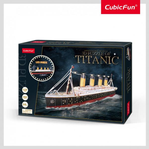 CUBIC FUN Titanic with LED