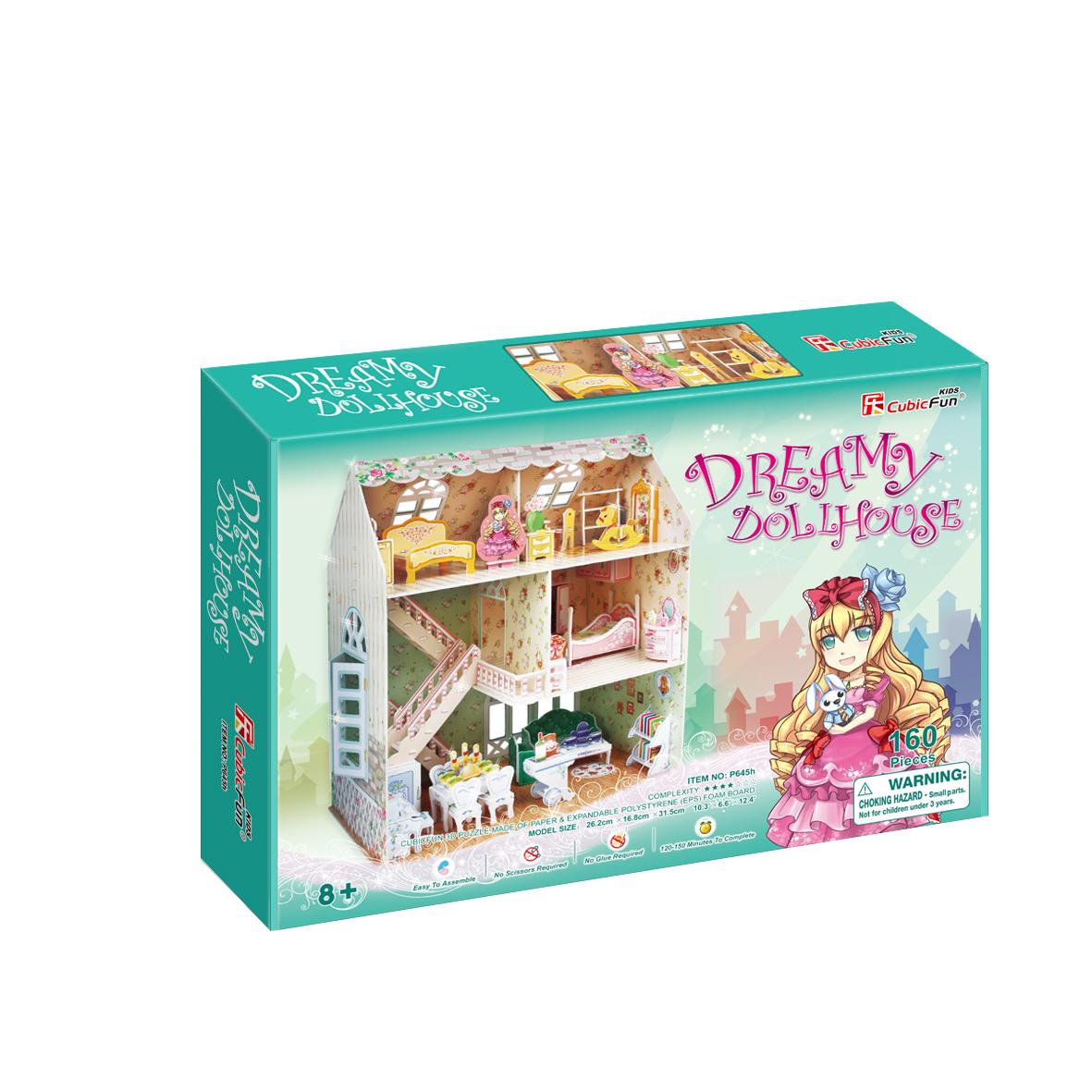 CubicFun 3D puzzle DREAMY DOLLHOUSE