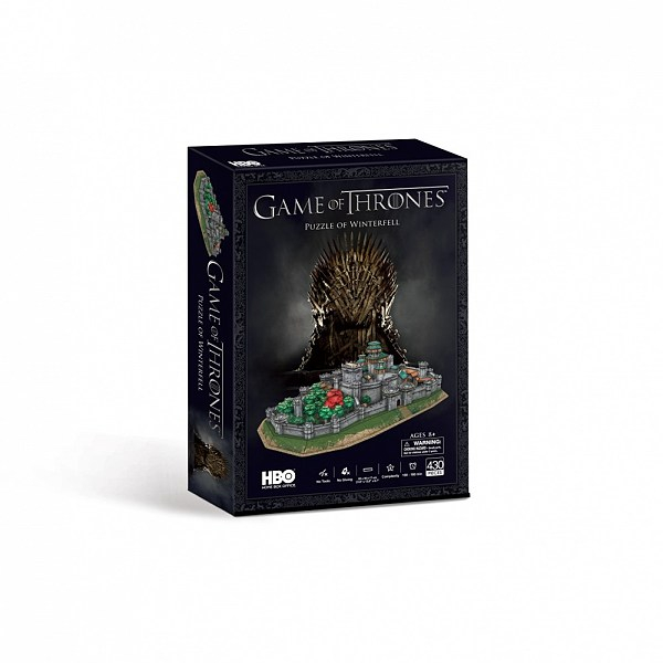 CubicFun 3D pusle Game of Thrones Winterfell
