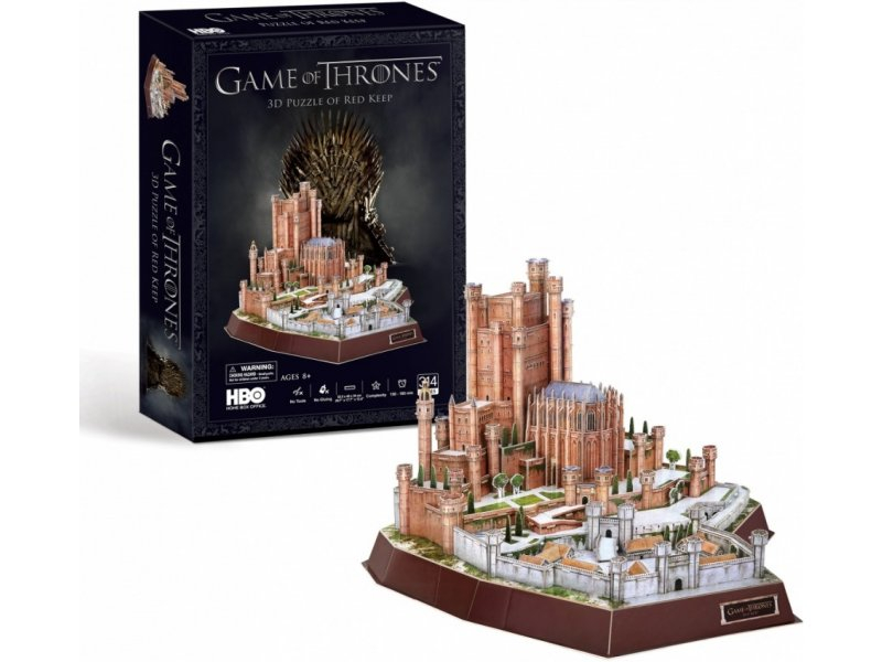 "CubicFun 3D Puzle ""Game of Thrones"" - Red Keep"