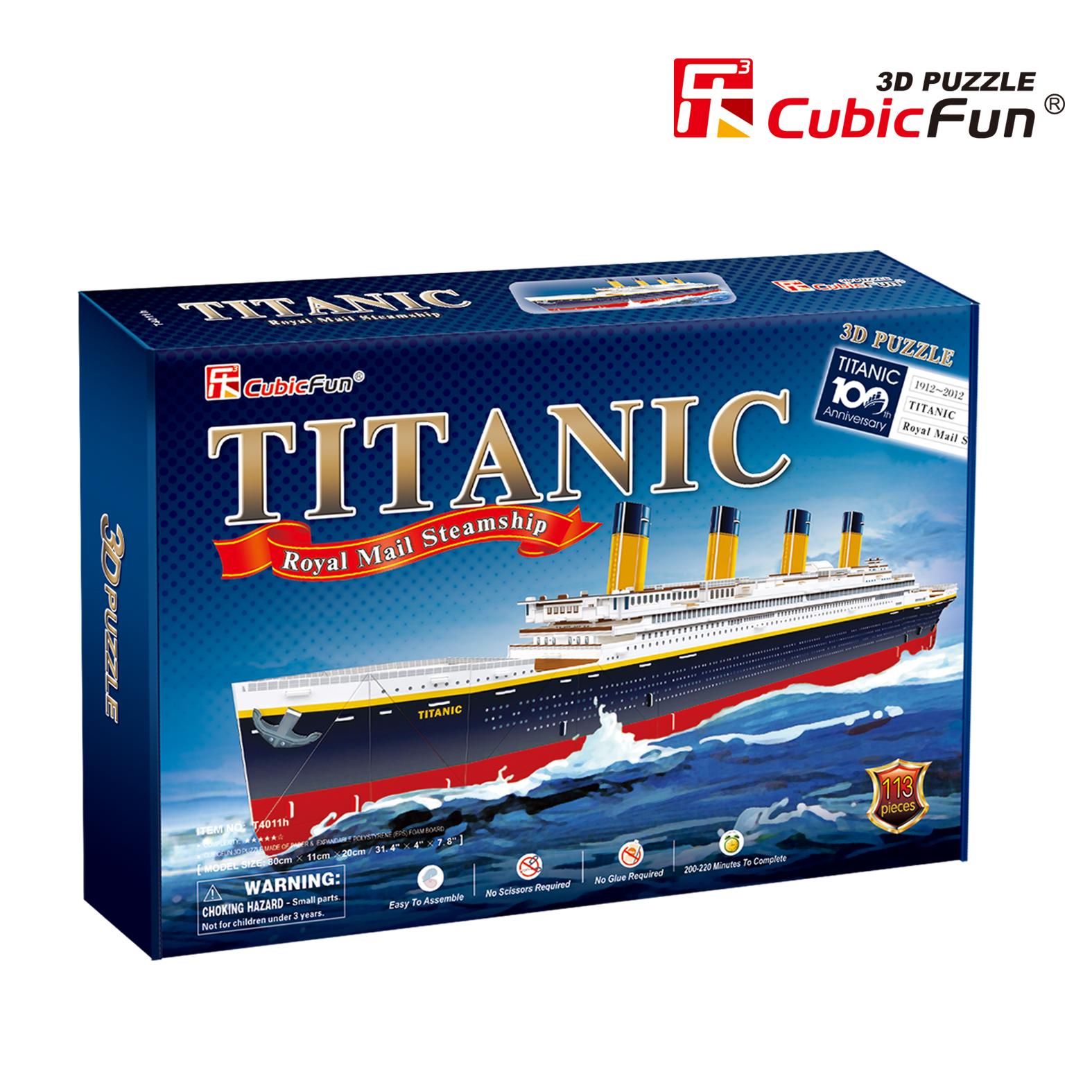 CubicFun 3D palapeli TITANIC SUURI