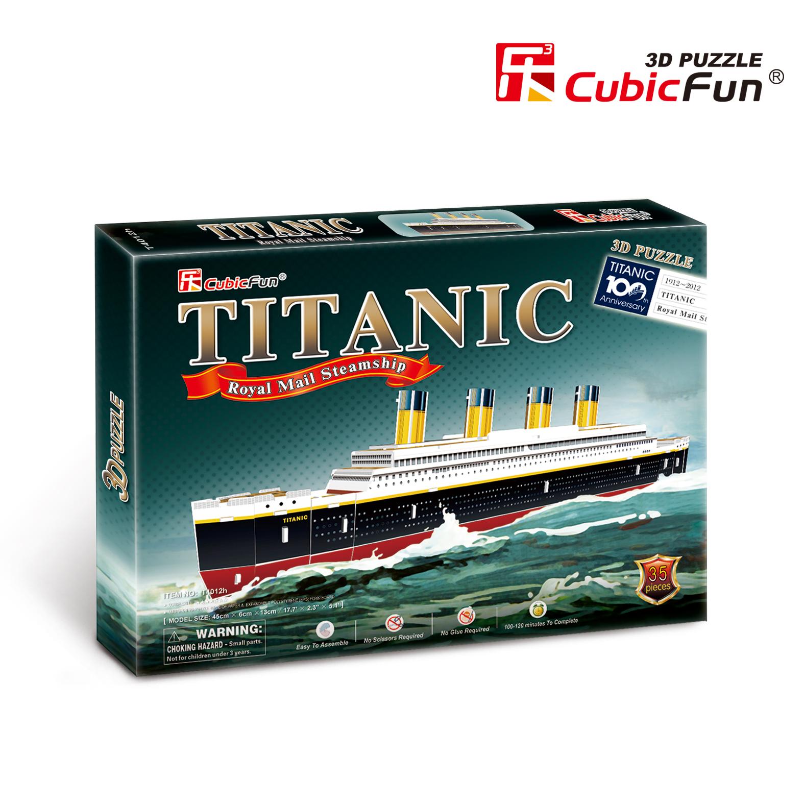 CubicFun 3D puzle Titaniks