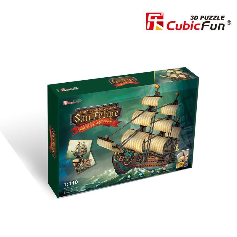 CUBICFUN Hispaania armada: The San Felipe