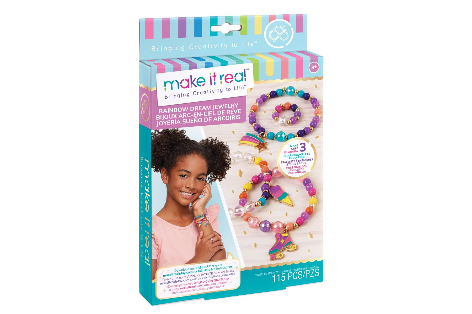 MAKE IT REAL Rainbow Dream Jewelry DIY Kit