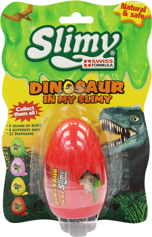 JOKER SLIMY Dinosaurus munassa, 110 g, lajitelma