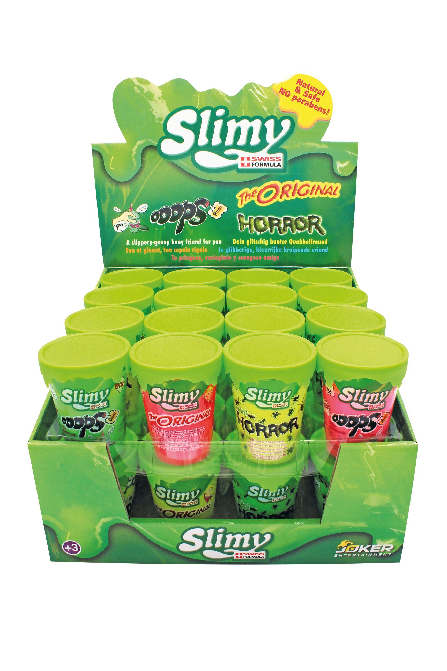 SLIMY Mini Original, Horror & Ooops