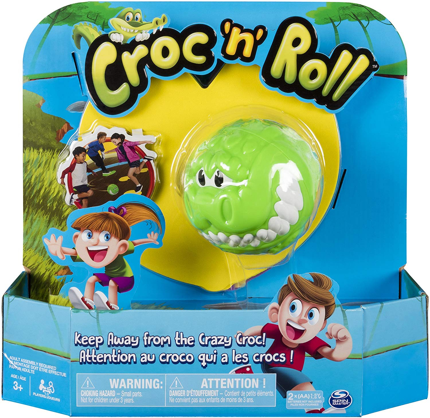 "SPIN MASTER Lauamäng ""Croc n Roll"""
