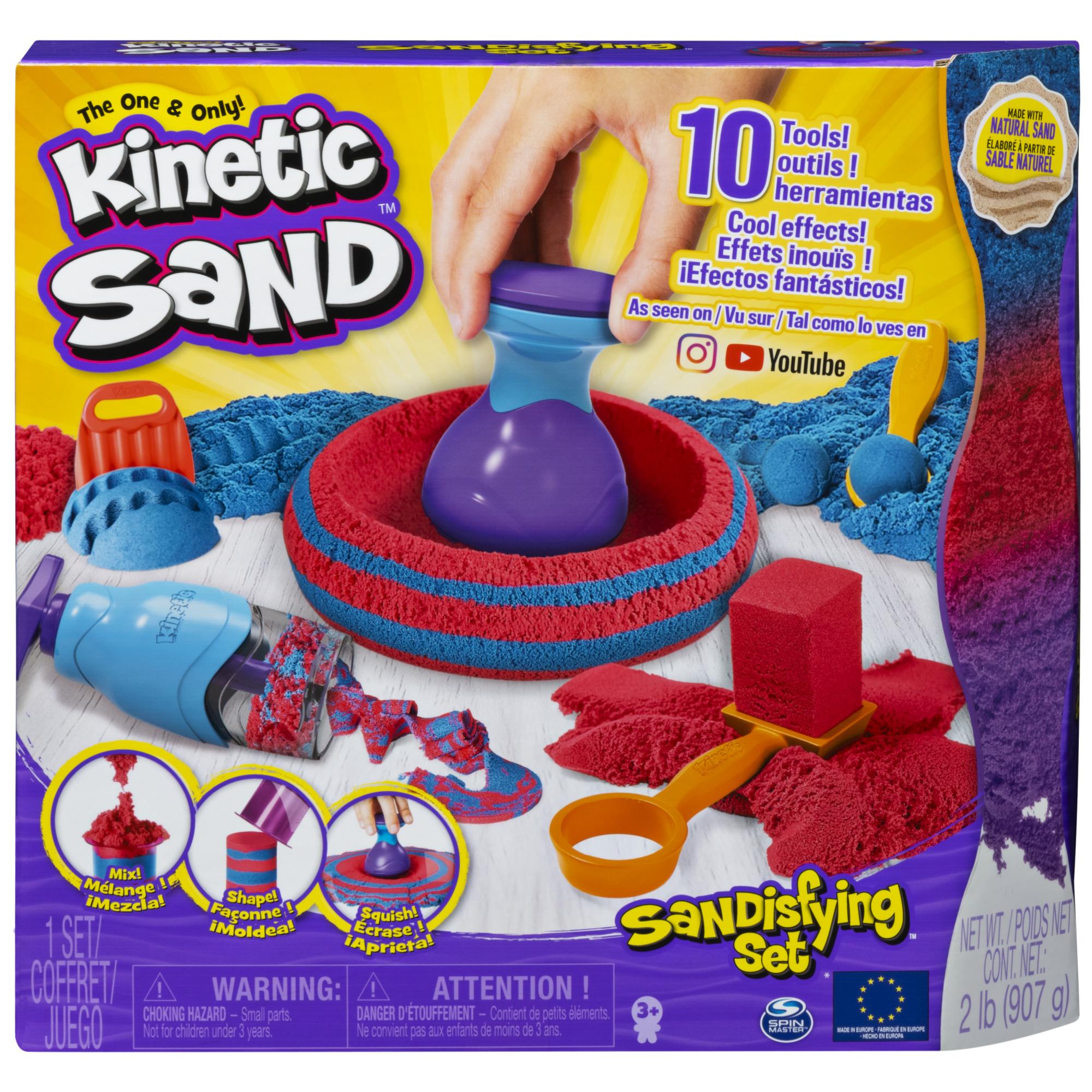 SPIN MASTER KINETIC SAND Mängukomplekt Sandtastic