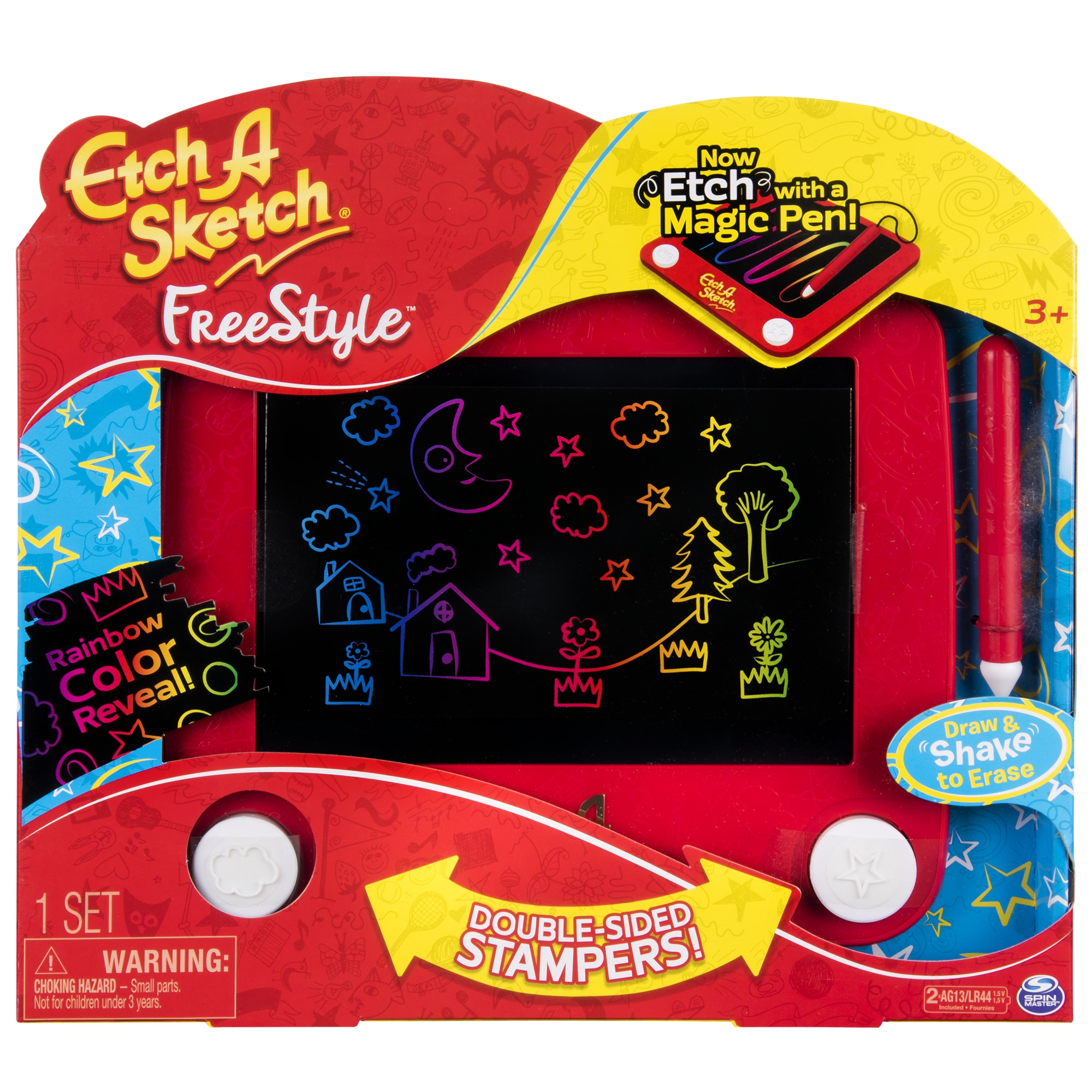 SPIN MASTER Etch A Sketch Freestyle -piirtosetti