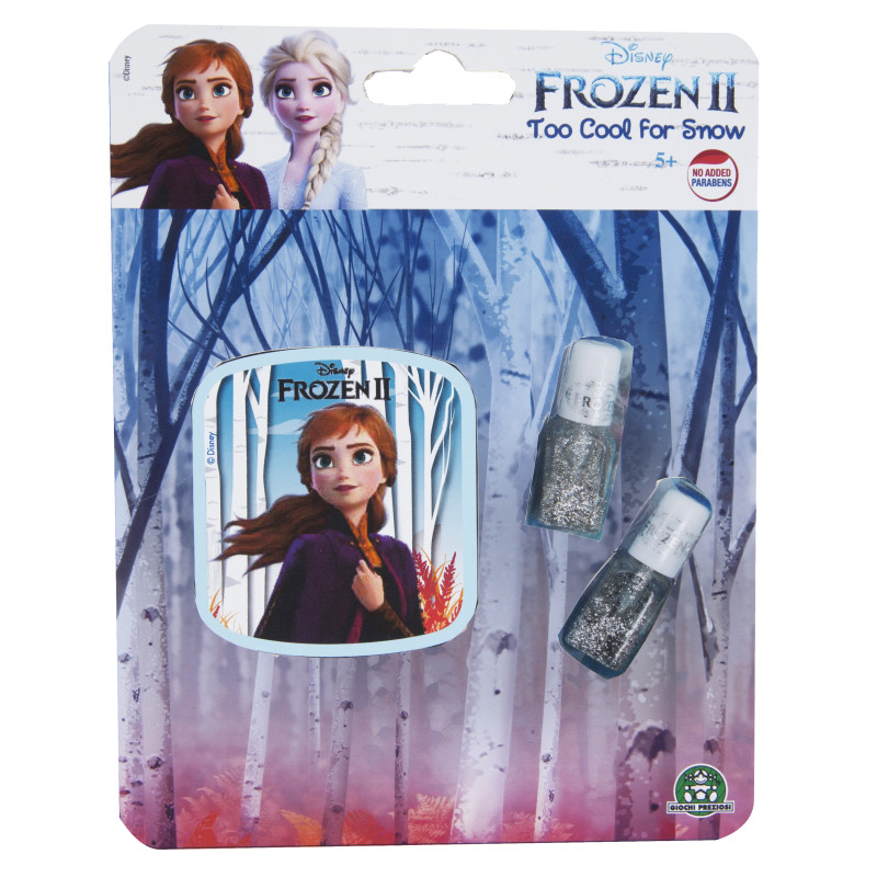 """GP FROZEN Nail Polishes """"Tool Cool For Snow"""""""