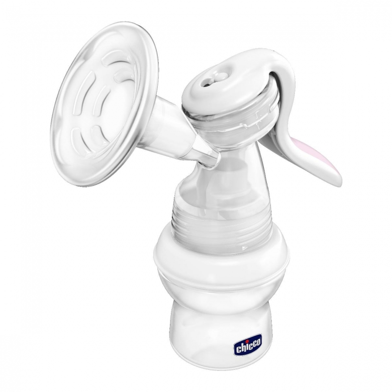 CHICB NATURAL FEELING MANUAL BREAST PUMP (COMPATIBLE WITH ALL CHICCO FEEDING BOTTLES)