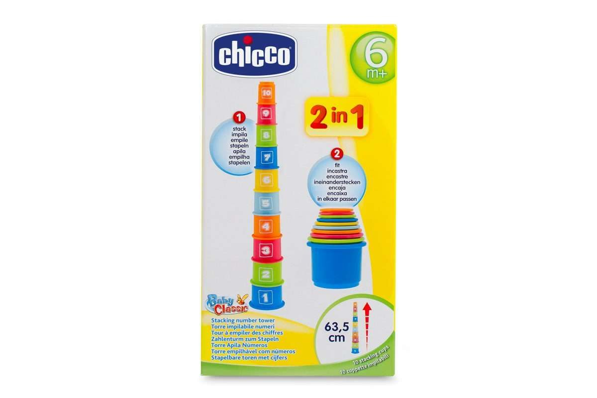 CHICCO Stackabe numbers