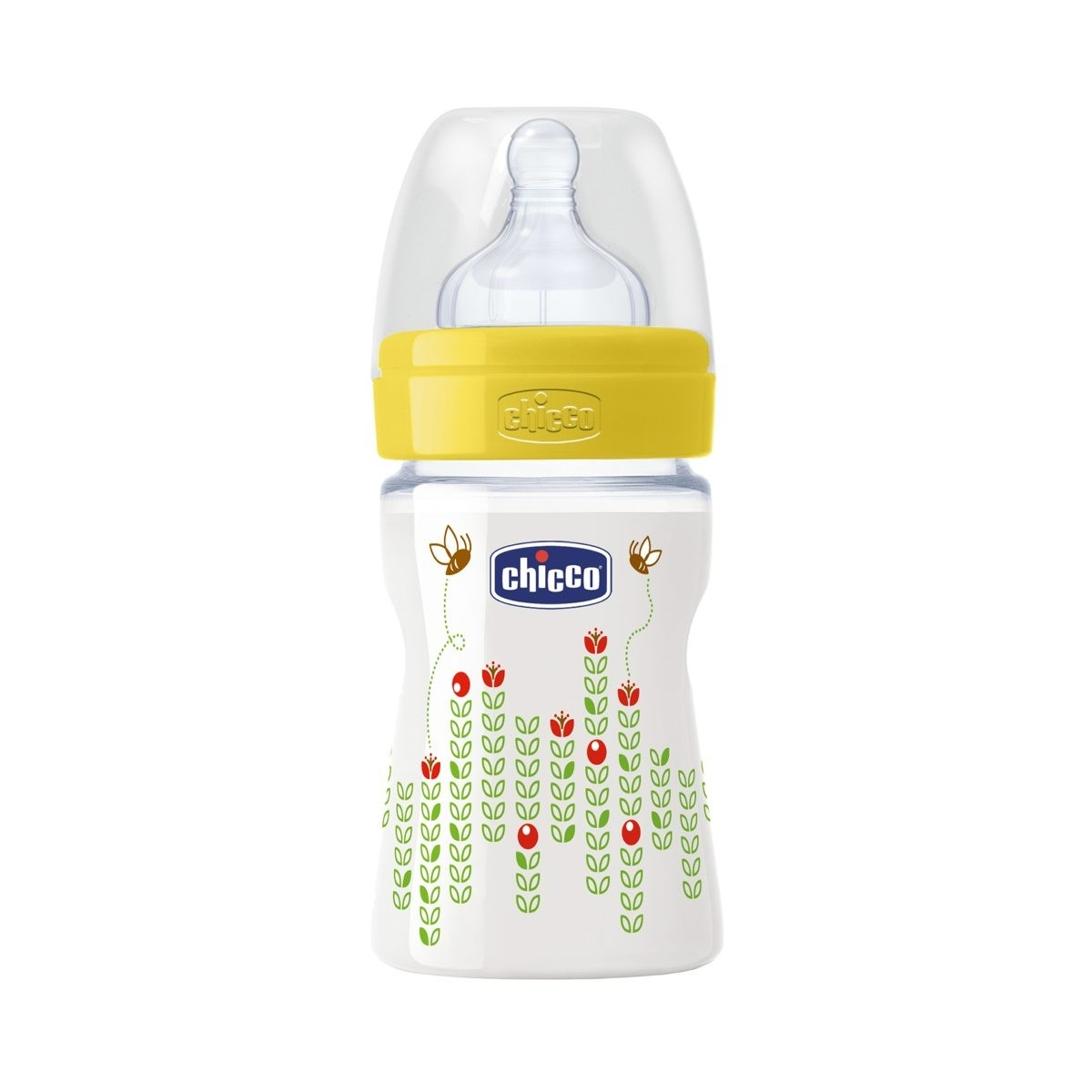 CHICCO WELL-BEING Lutipudel, 150ml (Kollane)