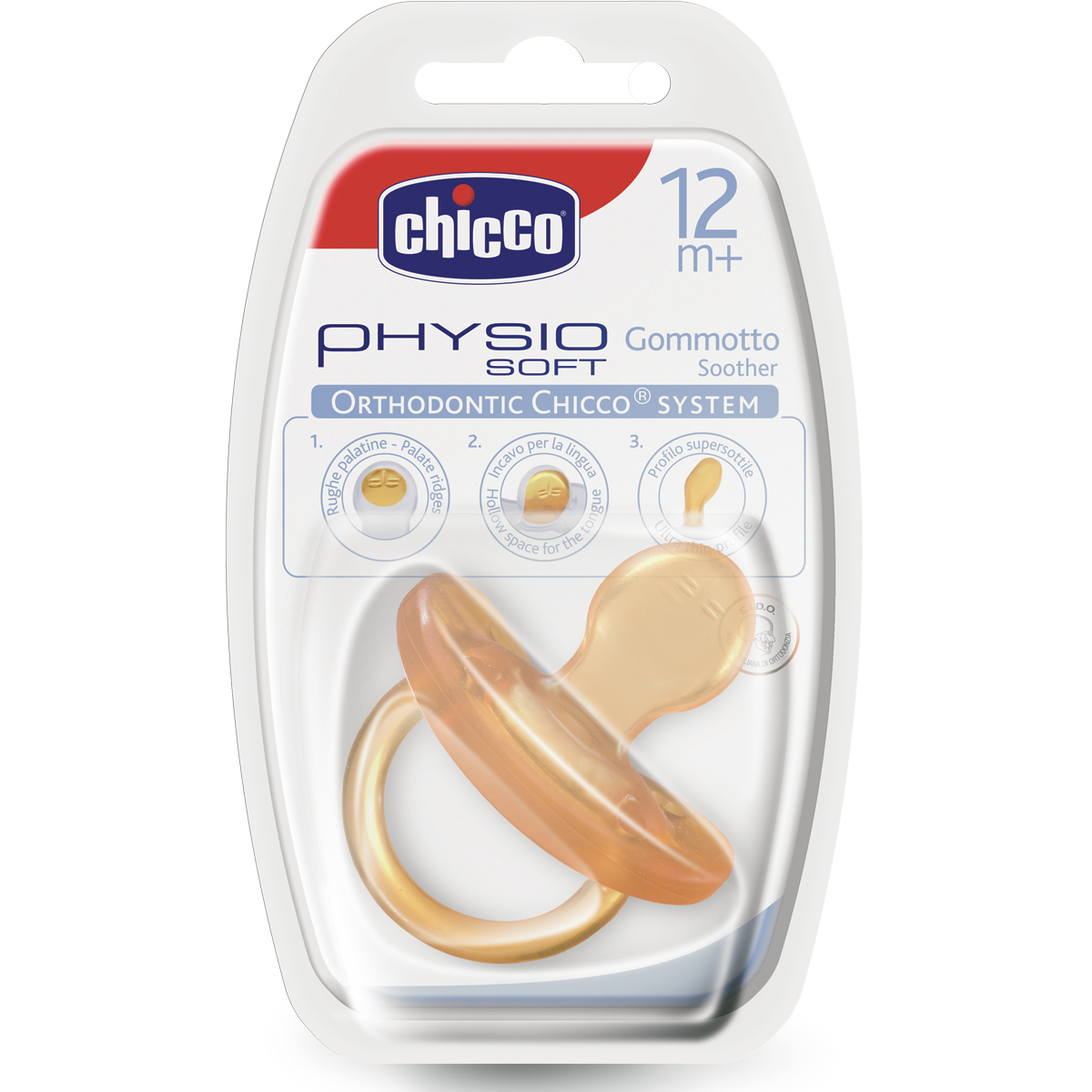 CHICCO PHYSIO SOFT Lateksist lutt, 12m+