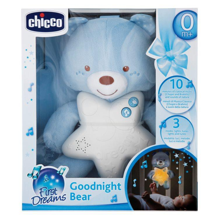 CHICT GOODNIGHT BEAR BLUE VERSION