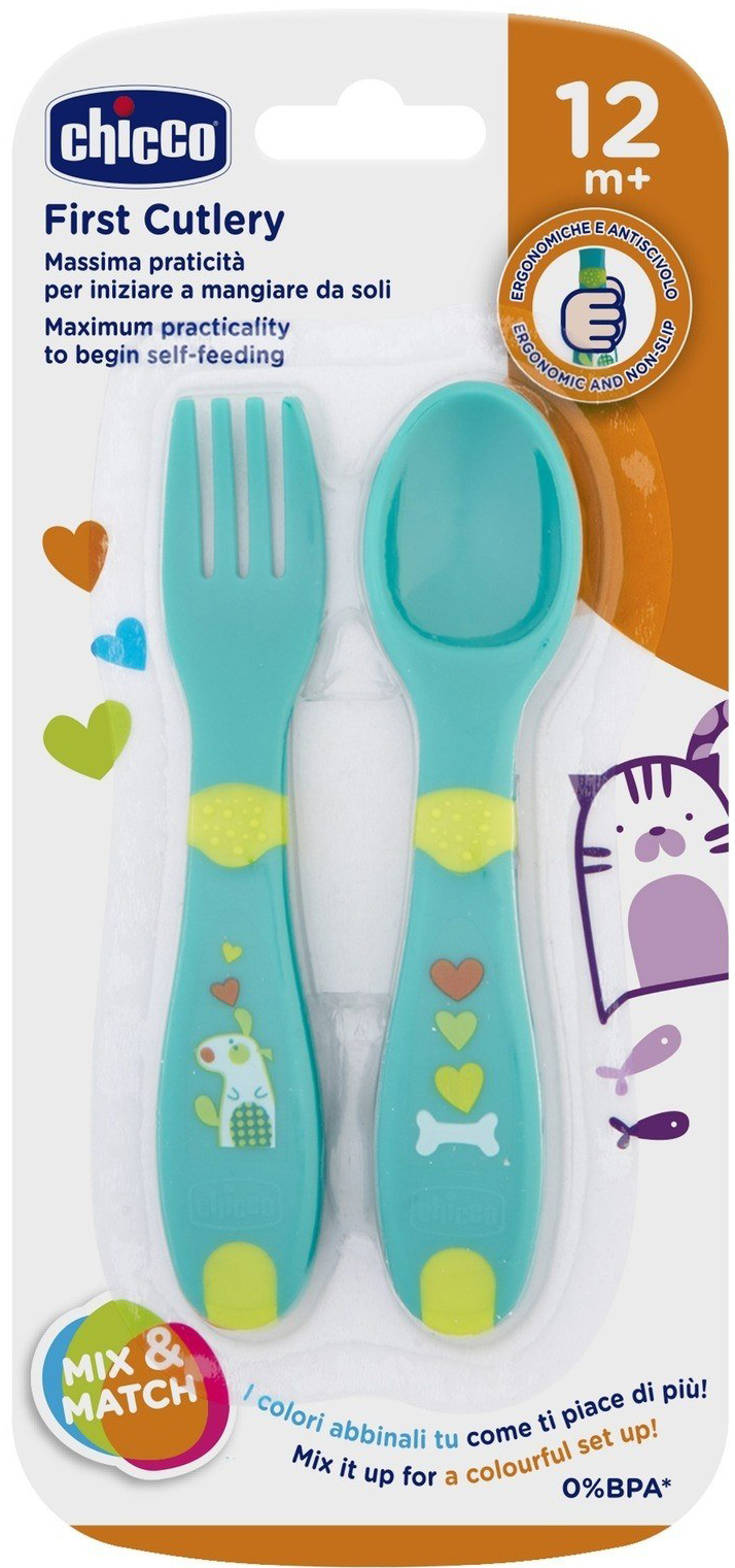 CHICB FIRST CUTLERY 12M+ NEUTRAL