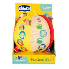 CHICCO Muusikaga pehme pall
