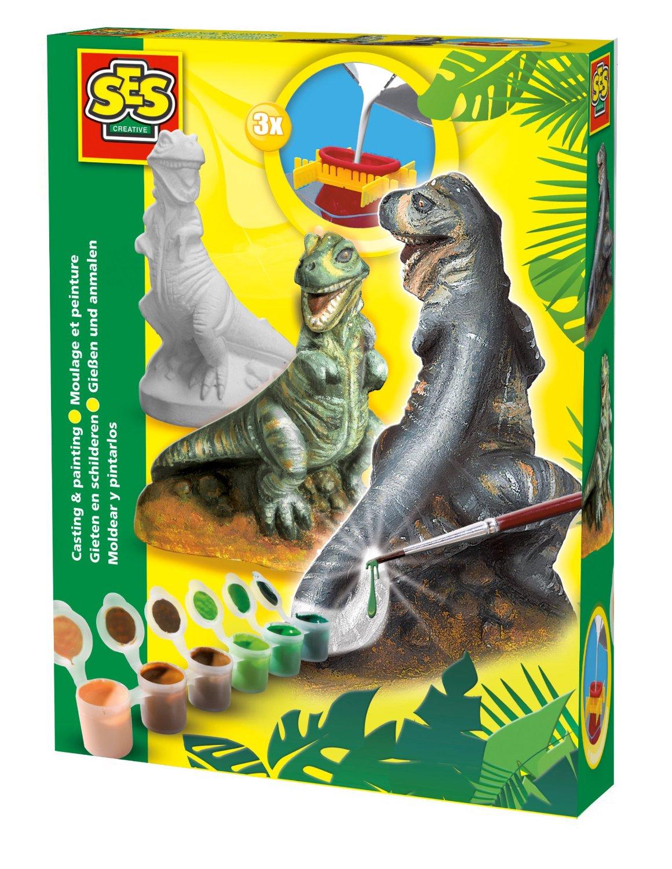 SES Kipsi valamise komplekt T-Rex