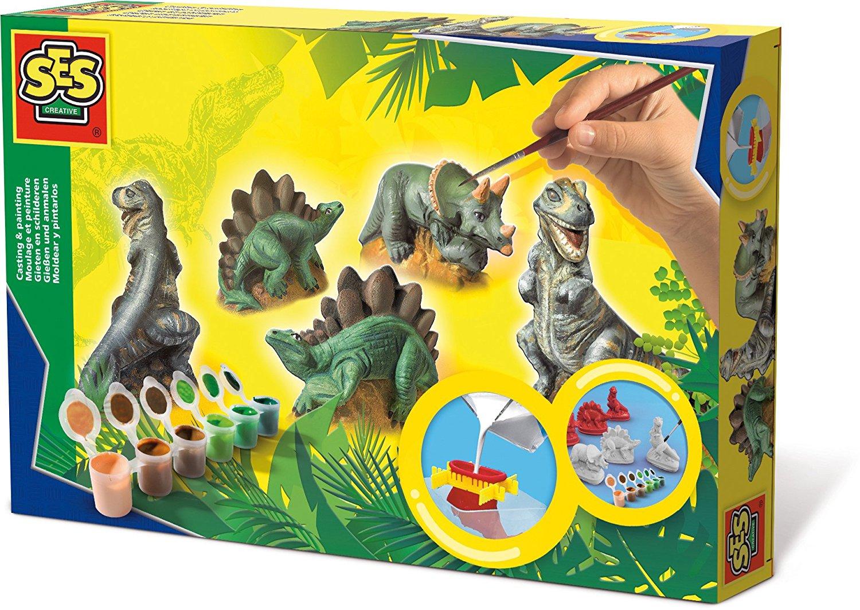 Kipsivalu-maalaussetti, dinosaurus