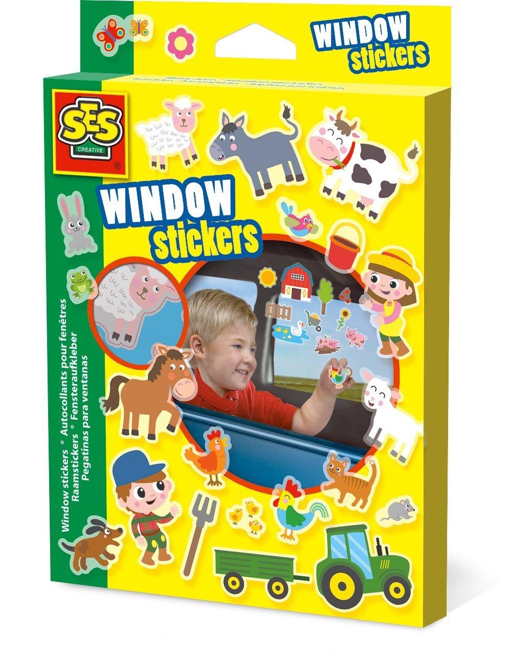 WINDOW STICKERS FARM