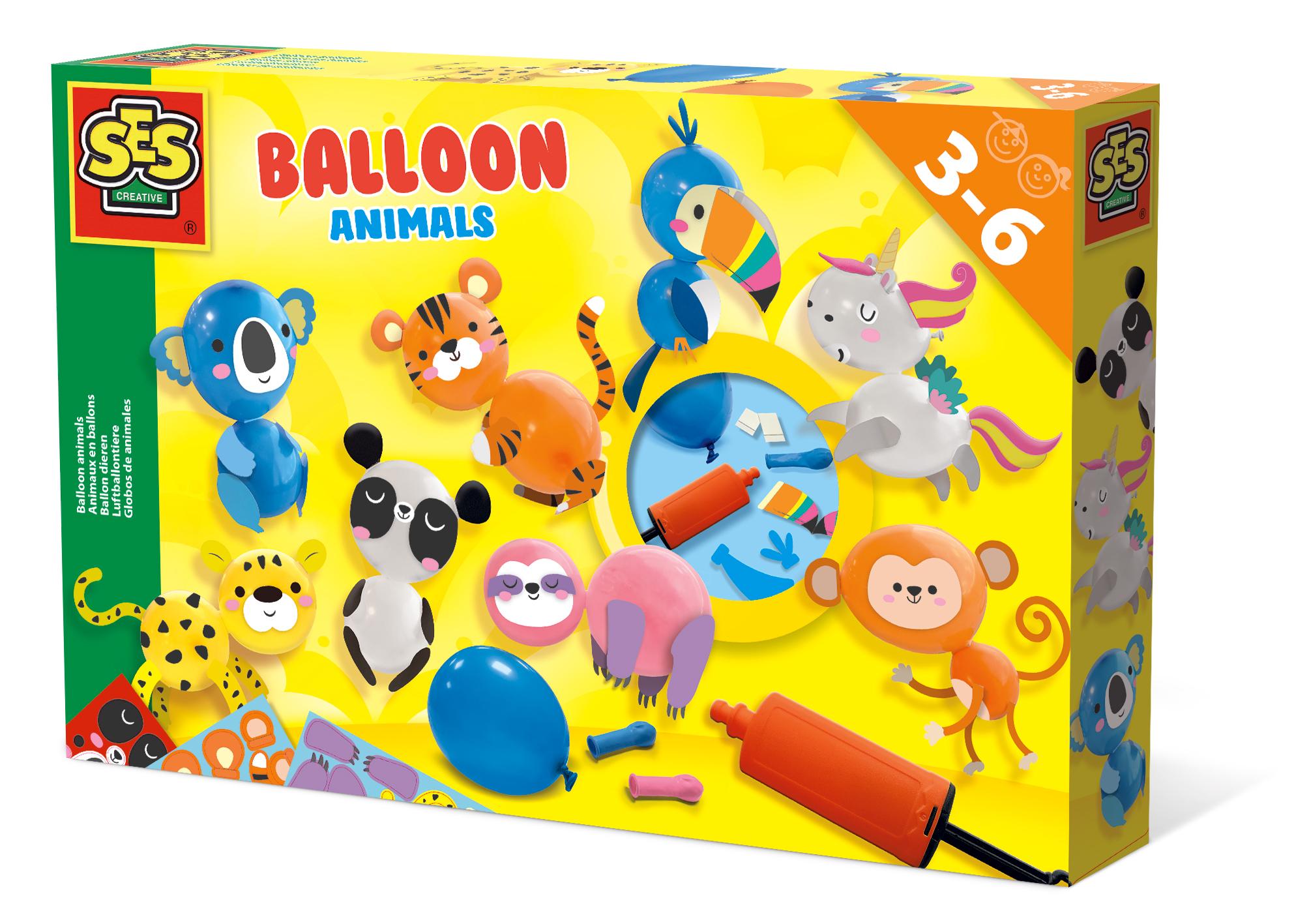 SES Õhupallid - loomad