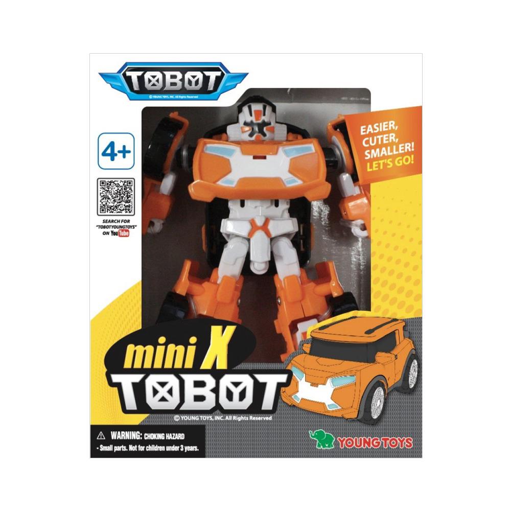 YOUNG TOYS TOBOT Mini Tobot X toimintahahmo