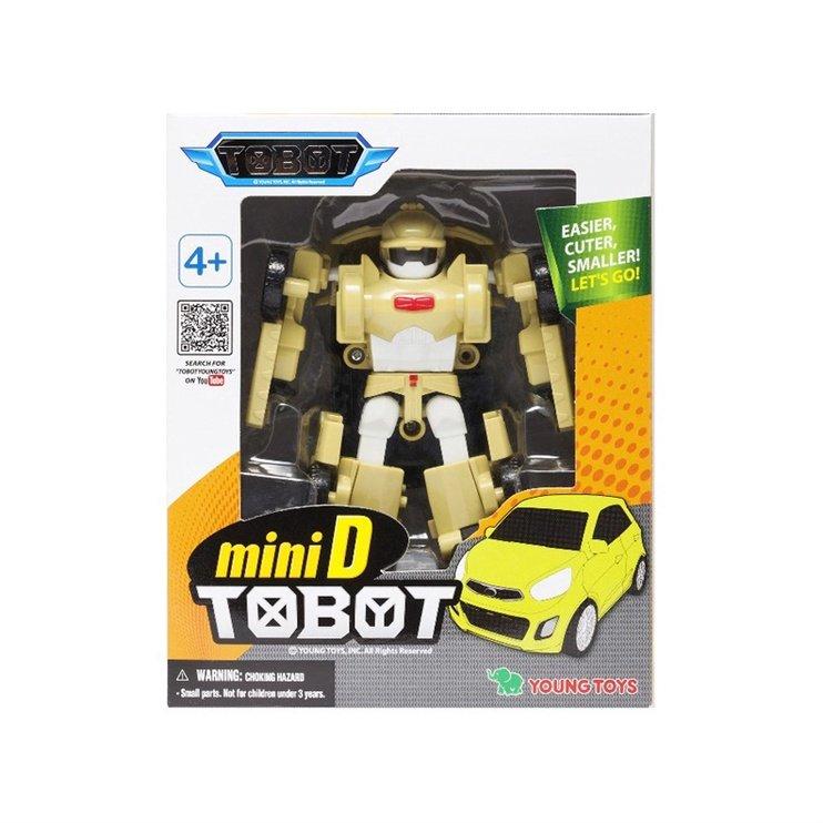 YOUNG TOYS TOBOT Mini Tobot D toimintahahmo