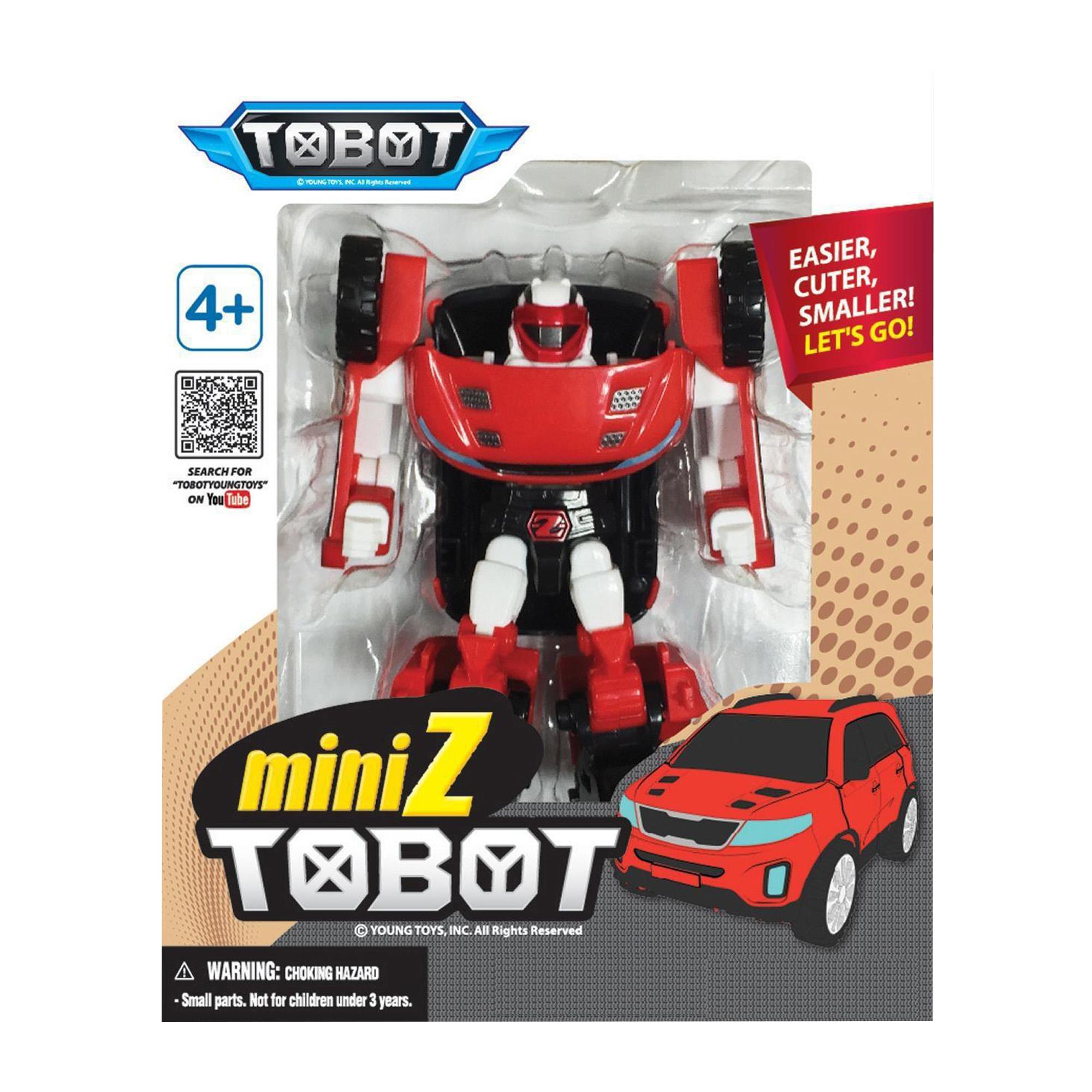 YOUNG TOYS TOBOT Mini Tobot Z toimintahahmo