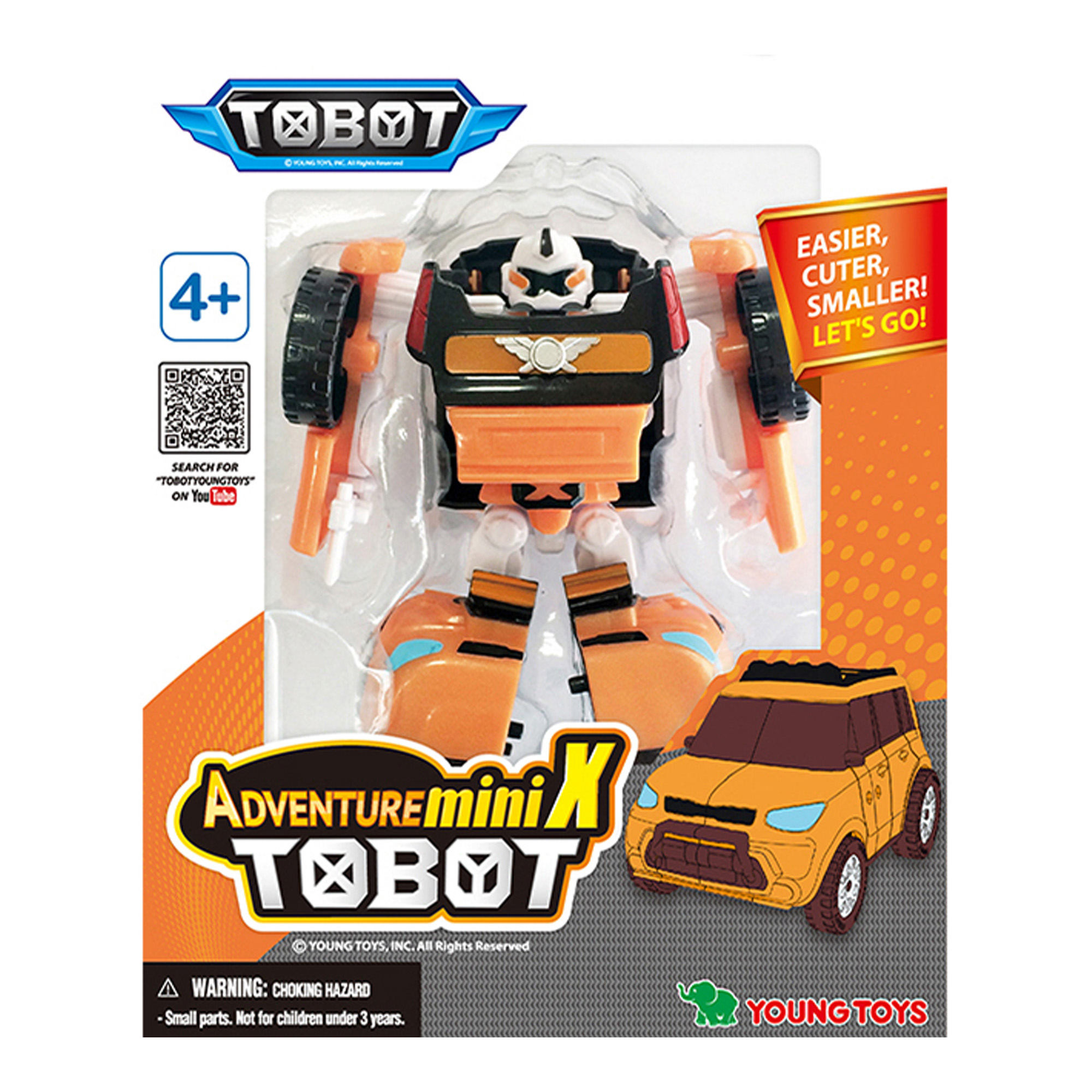 YOUNG TOYS TOBOT Mini Adventure X figuur