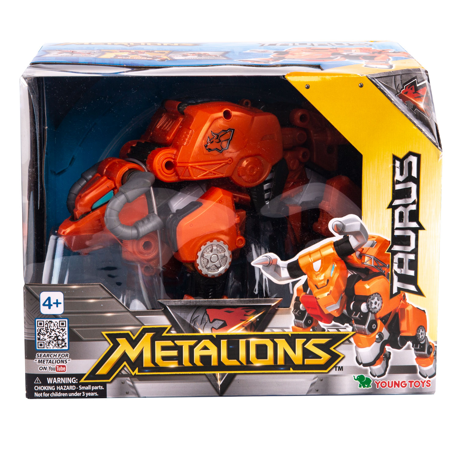 YOUNG TOYS METALIONS Main Taurus Action Figure