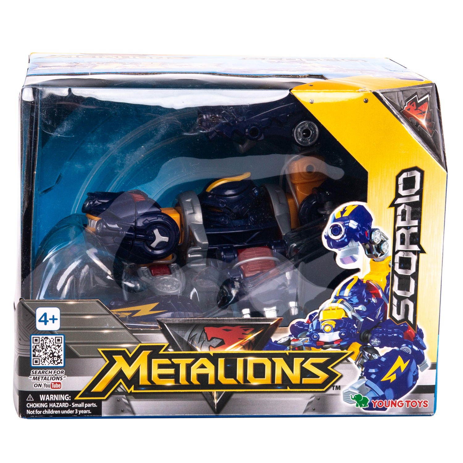 YOUNG TOYS METALIONS Main Scorpio Action Figure