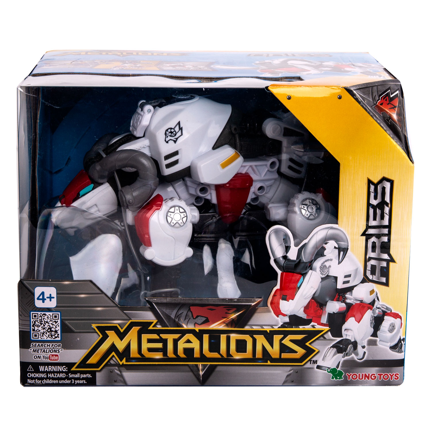 YOUNG TOYS METALIONS Main Aries Action Figure