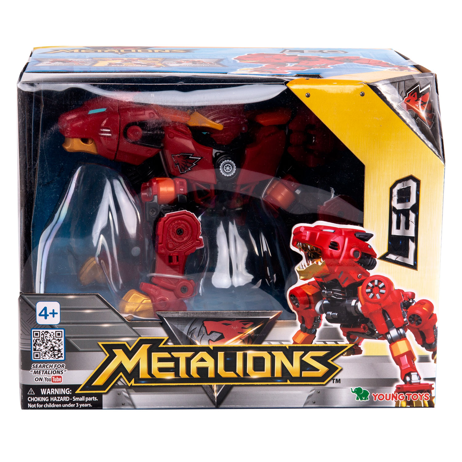 YOUNG TOYS METALIONS Main Leo Action Figure