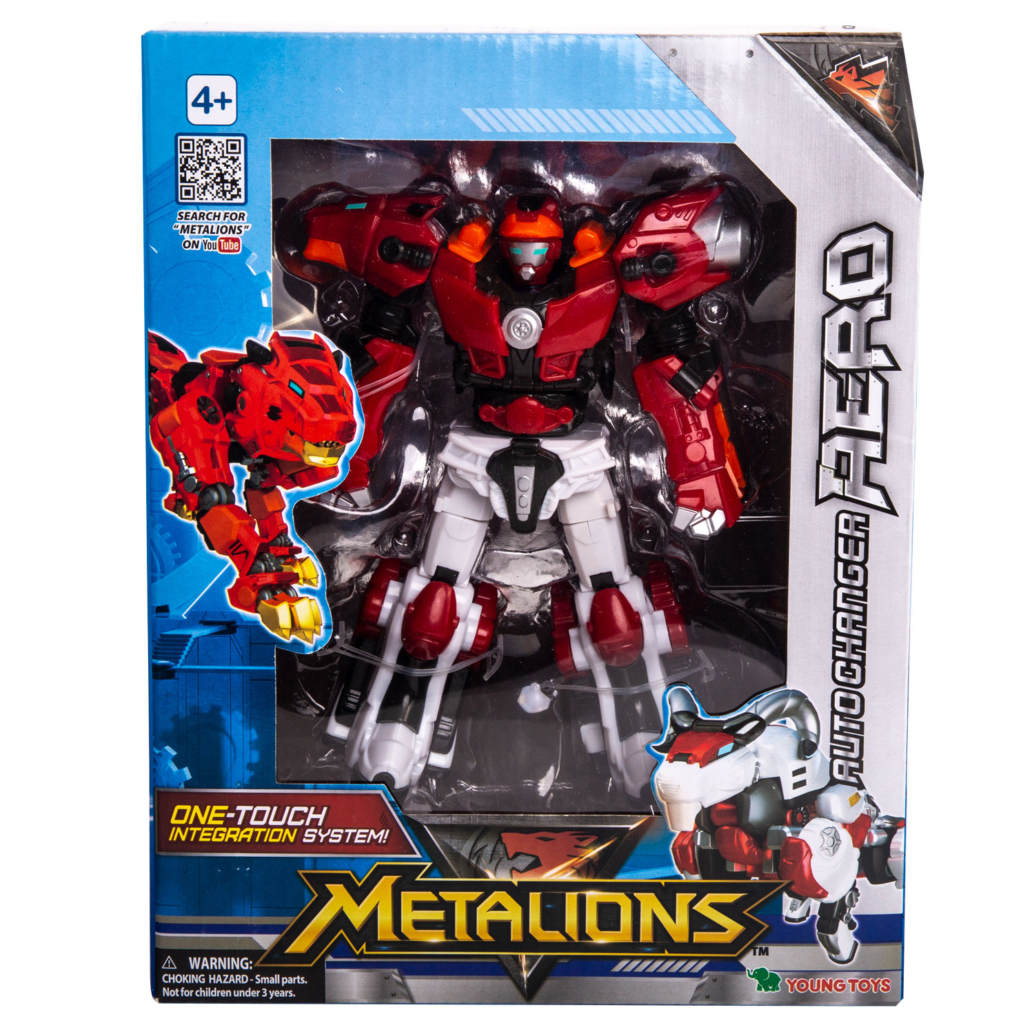 YOUNG TOYS METALIONS Auto-Changer Aero Action Figure